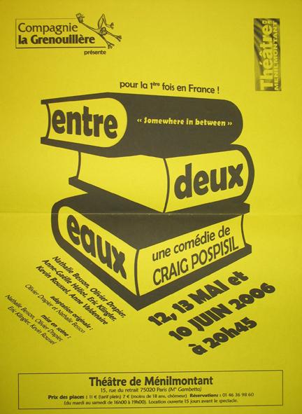 Entre Deux Eaux poster